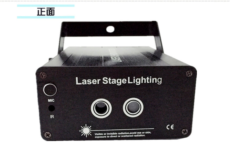 remote control 24 gobos red green mini laser light 300Mw laser stage lighting effect for night club rg mini 3 lens 24 patterns led laser projector stage lighting effect 3w blue for dj disco party club laser