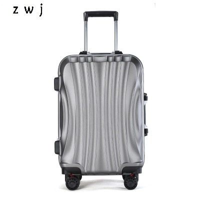 PC Business Travel Rolling Luggage Aluminum Frame Alloy Spinner Wheels Airplane Suitcase Carry On Trolley Luggage