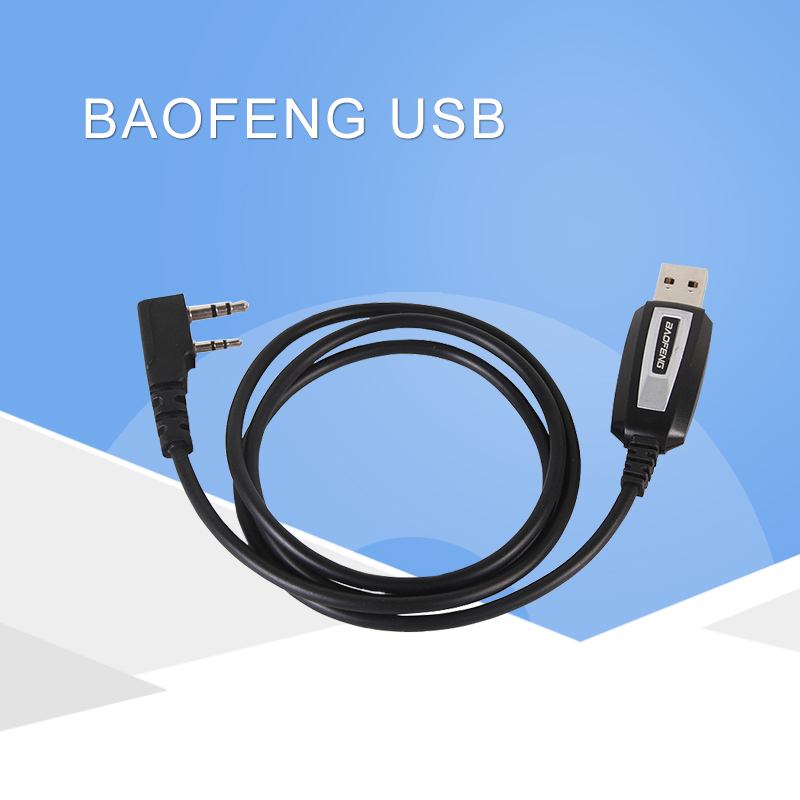 Baofeng USB Programming Cable For Baofeng Two Way Radio UV-5R, BF-888S, BF-F8+ With Driver CD