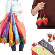 f133abb72e5 New Fashion Cute Eco Handbag Strawberry Foldable Shopping Bags Reusable Bag  Tote