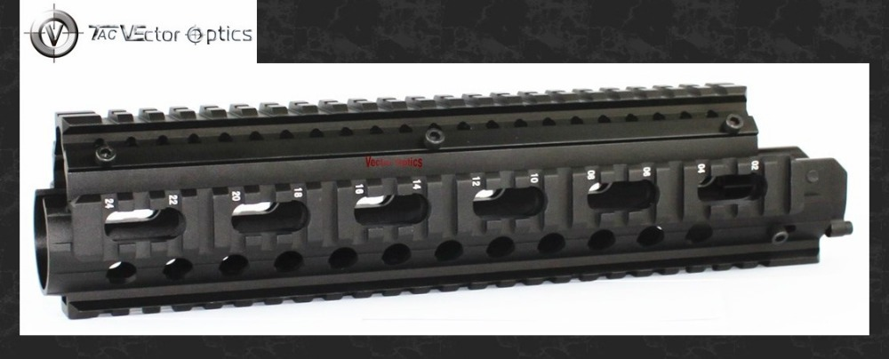 TAC Vector Optics Tactical FN FAL Rifle Handguard Picatinny Quad Rails Mount System Model #58 Free Shipping & 20pcs Covers redfox куртка ветрозащитная vector gtx iii мужская 58 1000 черный