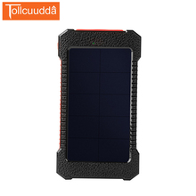 Original Tollcuudda solar power bank 8000mah double usb solar charger waterproof powerbank portable external battery charger