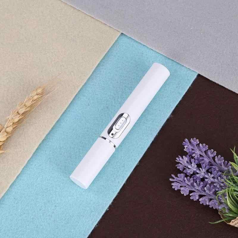 Taşınabilir Akne Lazer Kalem 415nm Mavi Işık Tedavisi Akne Lazer Kalem Skar Kırışıklık Kaldırma Güzellik Cihazı