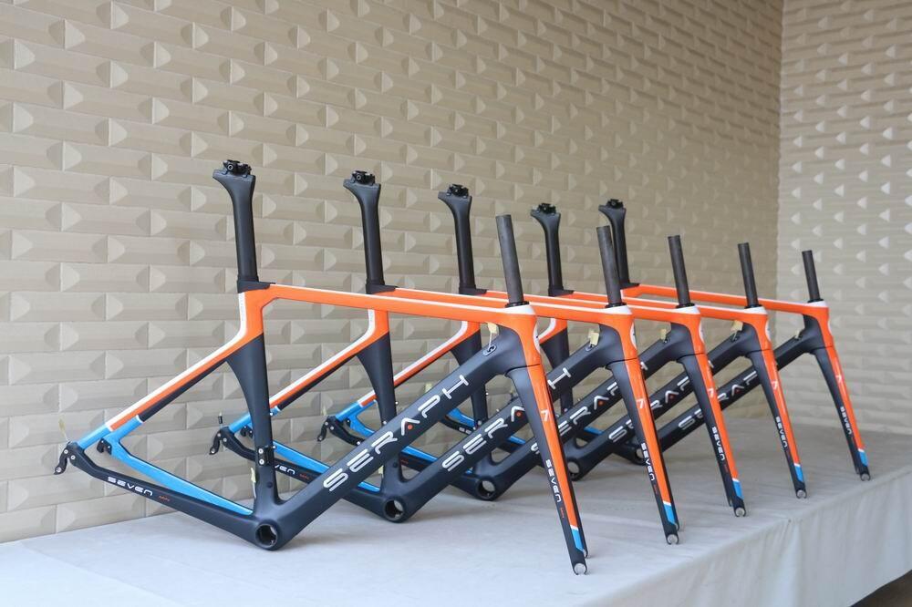 seraph painting china carbon bike frame oem carbon frame road chinese carbon road bike frame