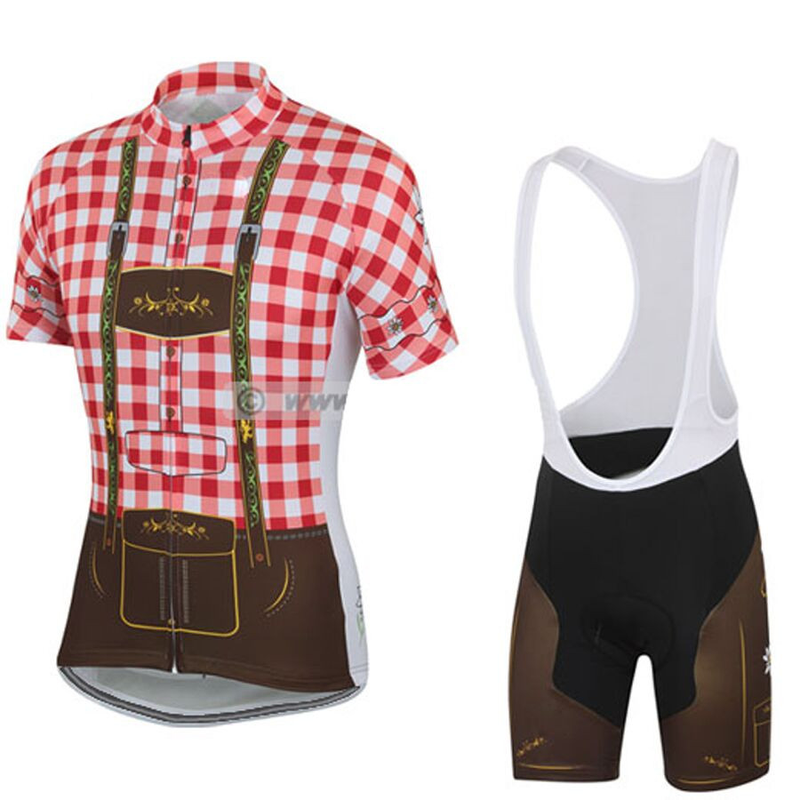 2018 New Men cycling jersey set MTB road team bike wear Breathable bib  shorts gel pad b29bd449b