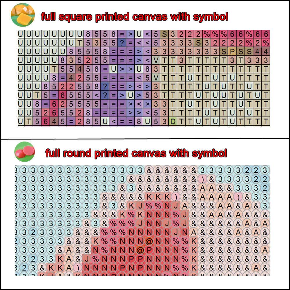 """Plein rond/carré diamant peinture 5D bricolage forage mosaïque diamant image """"peinture abstraite colorée"""" broderie point de croix 3d art"""