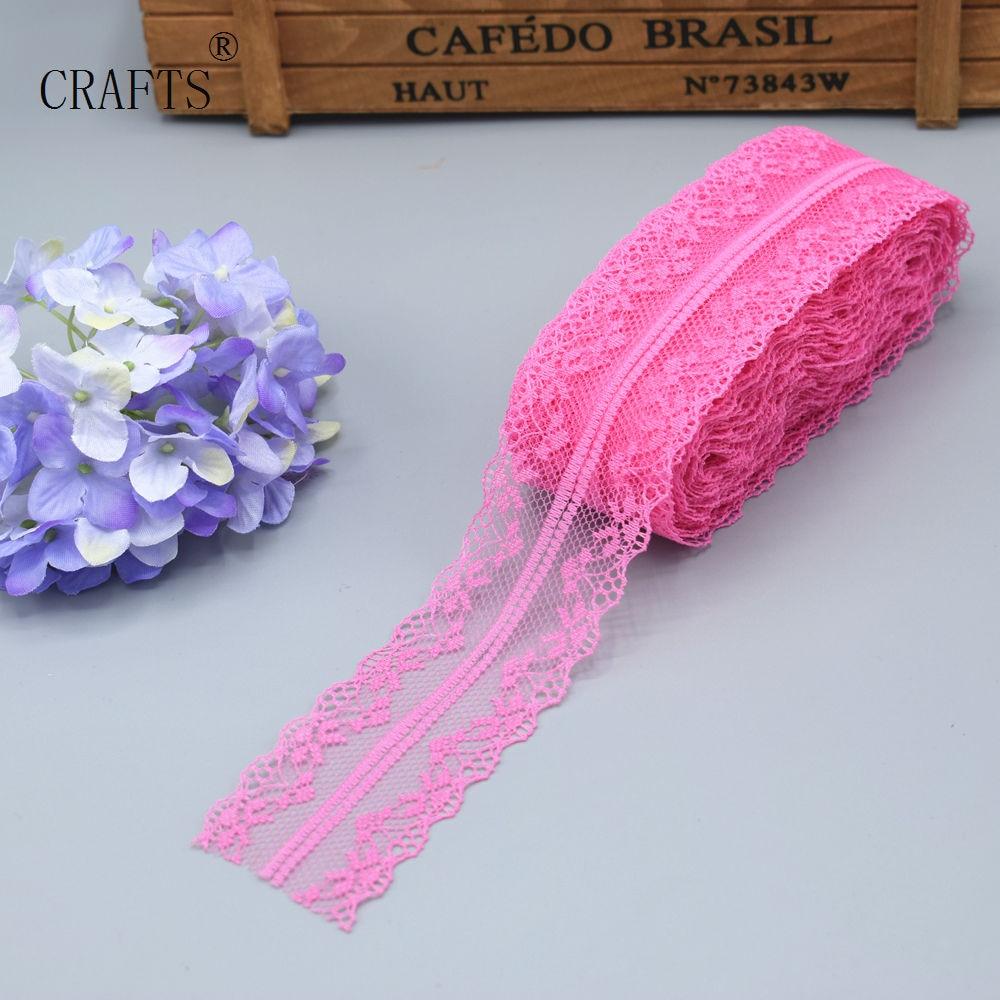 HTB1DMOeiHGYBuNjy0Foq6AiBFXaE New! 10 yards beautiful lace ribbon, 3.8 cm wide, DIY decoration accessories, holiday decorations