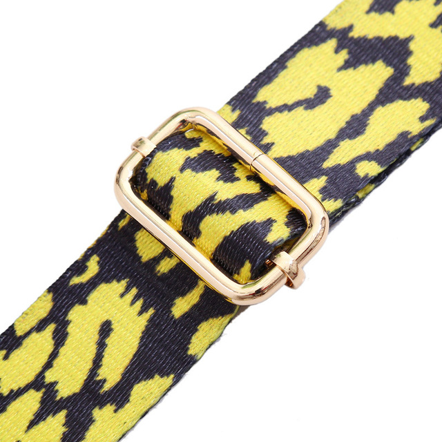 Colored Women Belt Bag Strap Nylon O Bag Accessories Rainbow Adjustable Shoulder Hanger Handbag Strap Decorative Handle Ornament 6