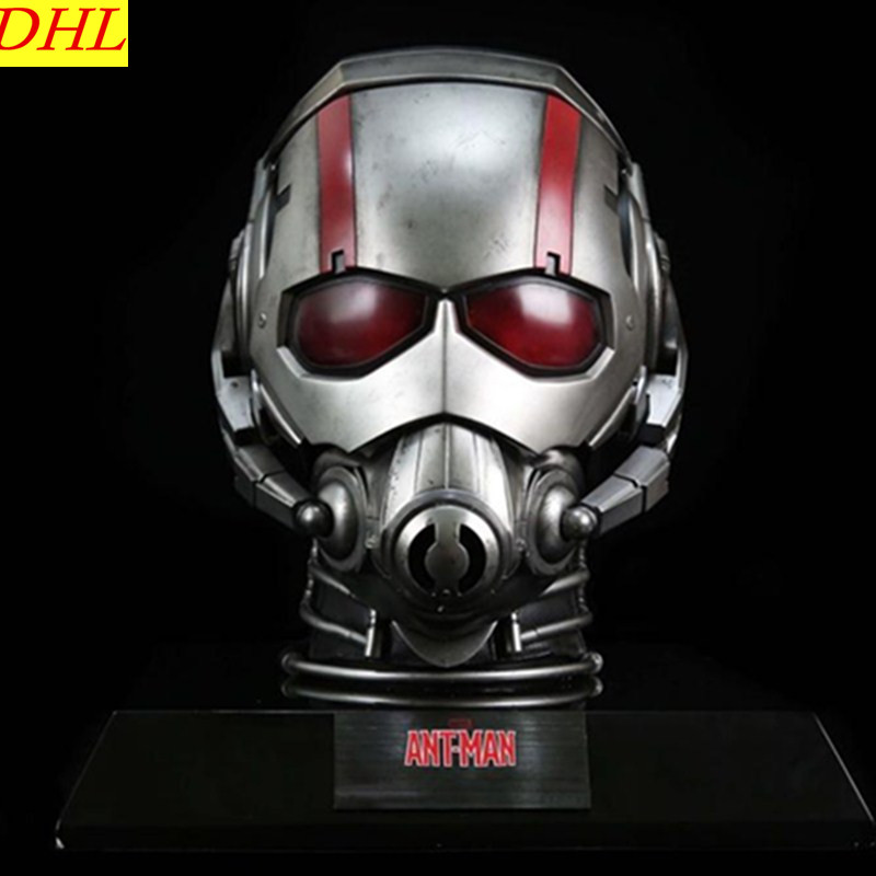 Avengers 3 Movie Ant-Man Helmet 1:1 Paul Rudd Michael Douglas Superhero Mask Resin Action Figure Collectible Model Toy L2224