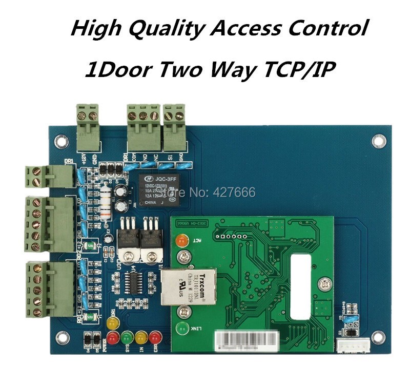 Free Shipping Web Controller Single Door Two Way Access Control Panel With TCP/IP  Card Entrance Guard Panel single door access panels controller with rs485 or tcp ip