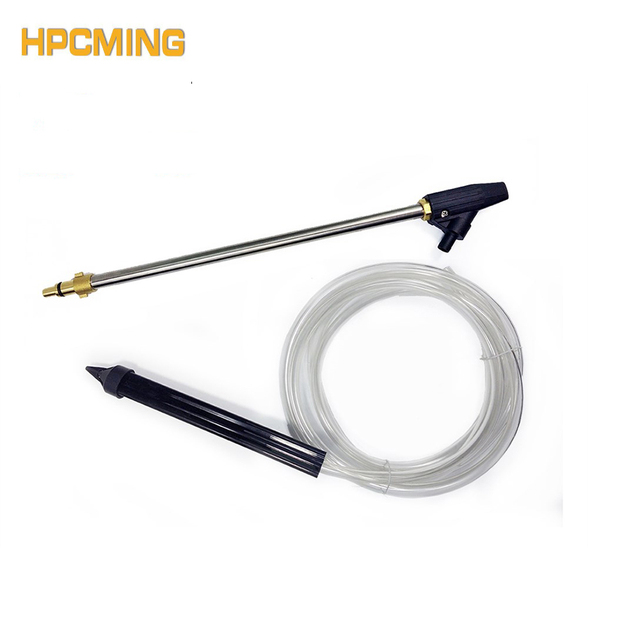 "2018 High Pressure Washer Sand And Wet Blasting Kit Hose Quick Connect with Nilfisk/Kew/Alto G1/4""F (MOBH004)"