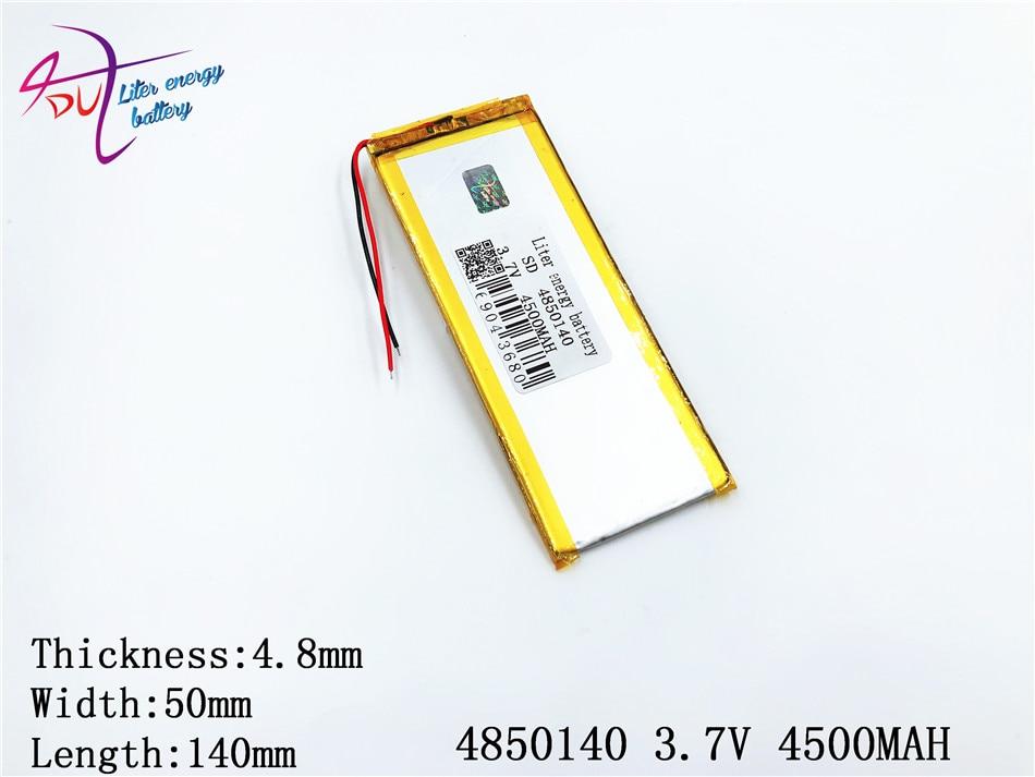 Herrlich Polymer Lithium-batterie 7,8 Digital Batterien Batterien 9 Inch Tablet Pc Lithiumion mit Hohe Qualität 4850140 3,7 V 4500 Mah 5050140 Tablet Batterie Einen Effekt In Richtung Klare Sicht Erzeugen