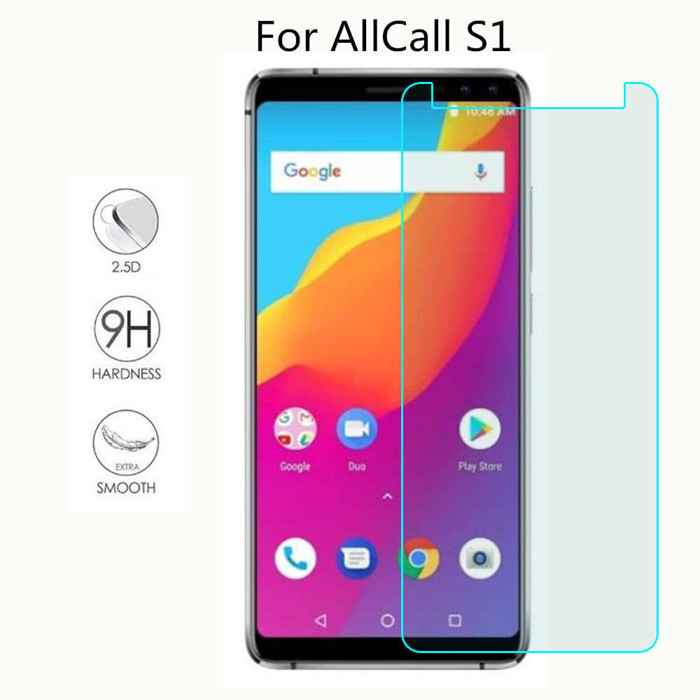 1pcs New Screen Protector phone For AllCall S1 Tempered Glass SmartPhone Film Protective Cover
