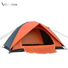 Wnndieo Обычная Купол Отдых Туризм Водонепроницаемый Компактный 2 Человек Человек Палатки На Открытом Воздухе