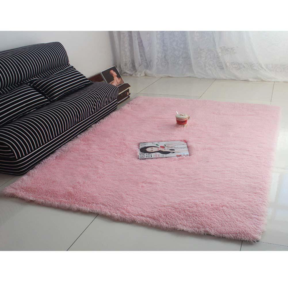 Teppich Rosa Flauschig.Us 9 55 32 Off Neue Flauschigen Teppich Anti Skiding Shaggy Bereich Teppich Esszimmer Teppich Bodenmatte Rosa Shaggy Teppiche Shag Teppiche A609