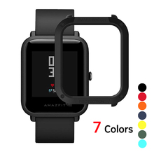 Amazfit Bip Case PC Protector Cover for Xiaomi Huami Bumper Shell Lightweight Smart Watch Accessories Youth Colourful