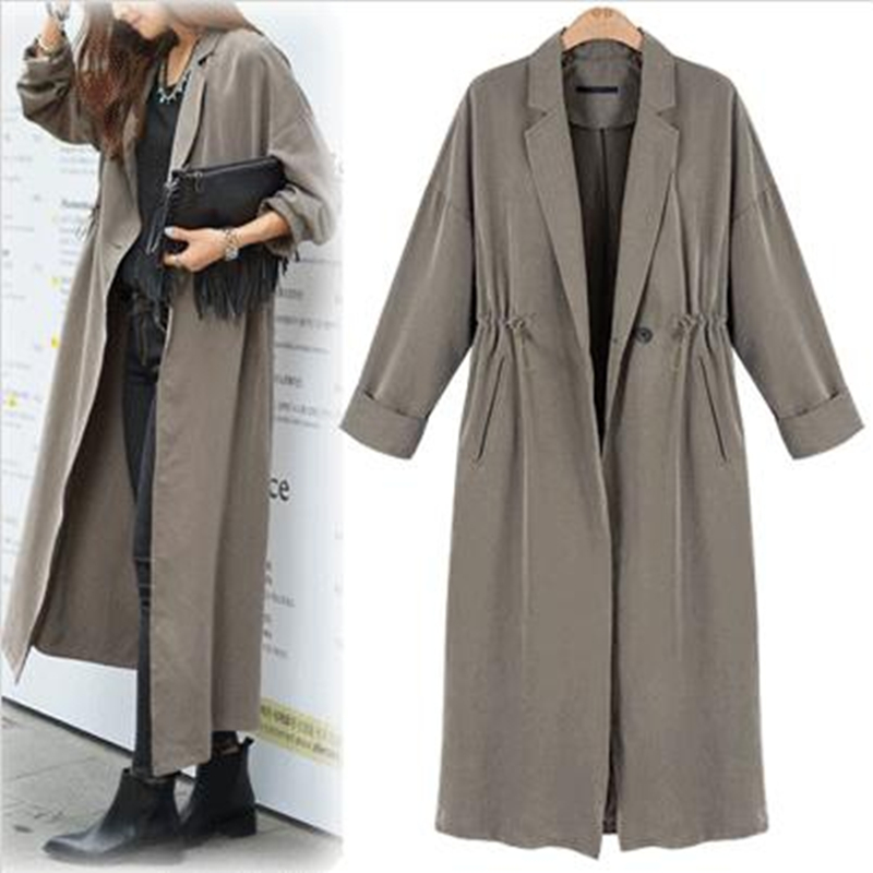 Popular Gray Trench Coat-Buy Cheap Gray Trench Coat lots from ...