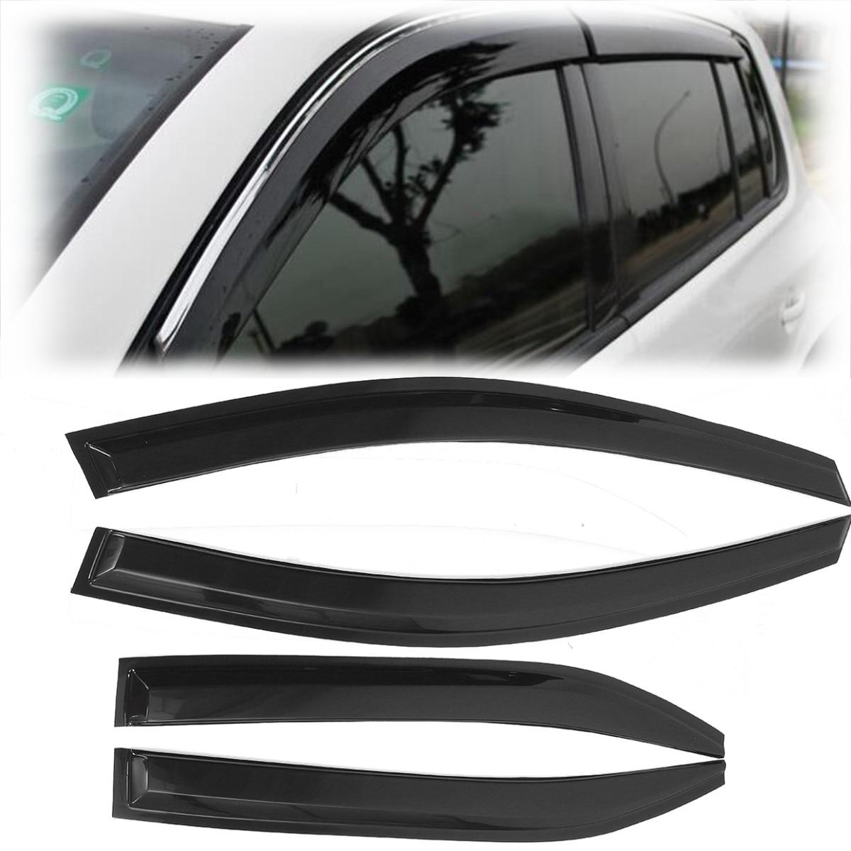 4PCS Car Window Visor Shade Vent Rain Deflector Cover For Toyota Camry 2007 2008 2009 2010 2011