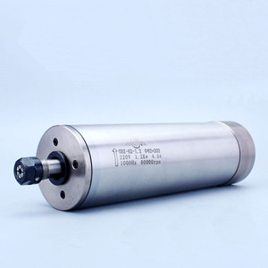 Image 2 - 高速 60000 rpm 1.2Kw フライス主軸モータ ER11 AC220V 4 ベアリング水冷スピンドルモータ木材や金属のため
