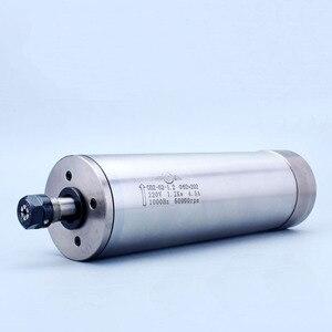 Image 2 - Tốc Độ cao 60000 rpm 1.2Kw Phay Động Cơ Trục Chính ER11 AC220V 4 mang nước làm mát bằng động cơ trục chính cho gỗ và kim loại