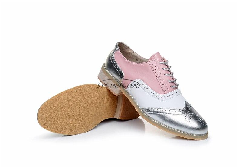 designer handmade do vintage oxfords sapatos para