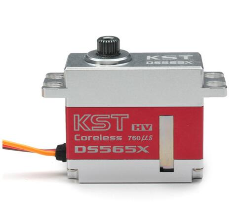 KST DS565X de Metal sin núcleo Servo Digital para 450-500 RC helicóptero