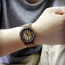 2017 Enmex Rétro ancre Bambou montre-bracelet à la main en bois naturel quartz montres, hommes d'affaires grand hommes montre, véritable en cuir sangle