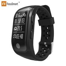 FocusSmart S908 Bracelet GPS IP68 professional waterproof Sport Modes watchsmart Heart Rate Tracker Smart Band For IOS Andriod
