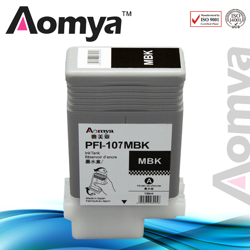PFI-107 Compatible Ink Cartridge for Canon IPF670 IPF680 IPF685 IPF770 IPF780 IPF785 IPF-670 IPF-770 IPF 670 770 PFI107 PFI 107 kldink pfi 101m magenta compatible ink cartridge 0885b001 ink