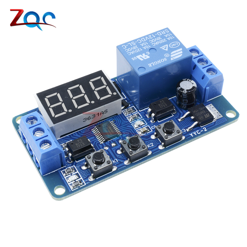 Buy Dc 12v Led Digital Display Home Automation 12 Volt Flasher Circuit Click For Details Delay Relay Trigger Time Timer Control Cycle Adjustable Switch Module From