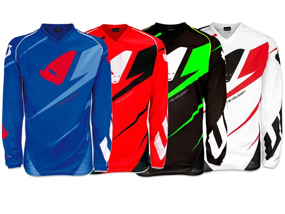 Цена за Бесплатный shipping2017 Длинным рукавом Футболка Горный Велосипед Smoto Спорт Джерси Downhill Джерси Мотокросс Мотоцикл Джерси MX DH MTB BMX