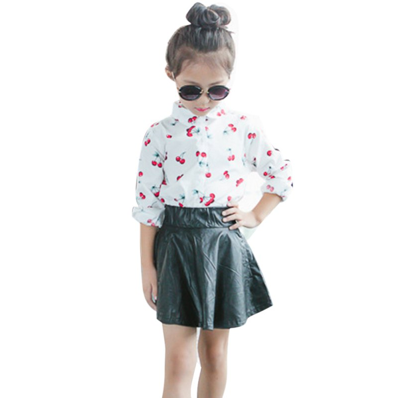 Popular Baby Leather Skirt-Buy Cheap Baby Leather Skirt lots from ...