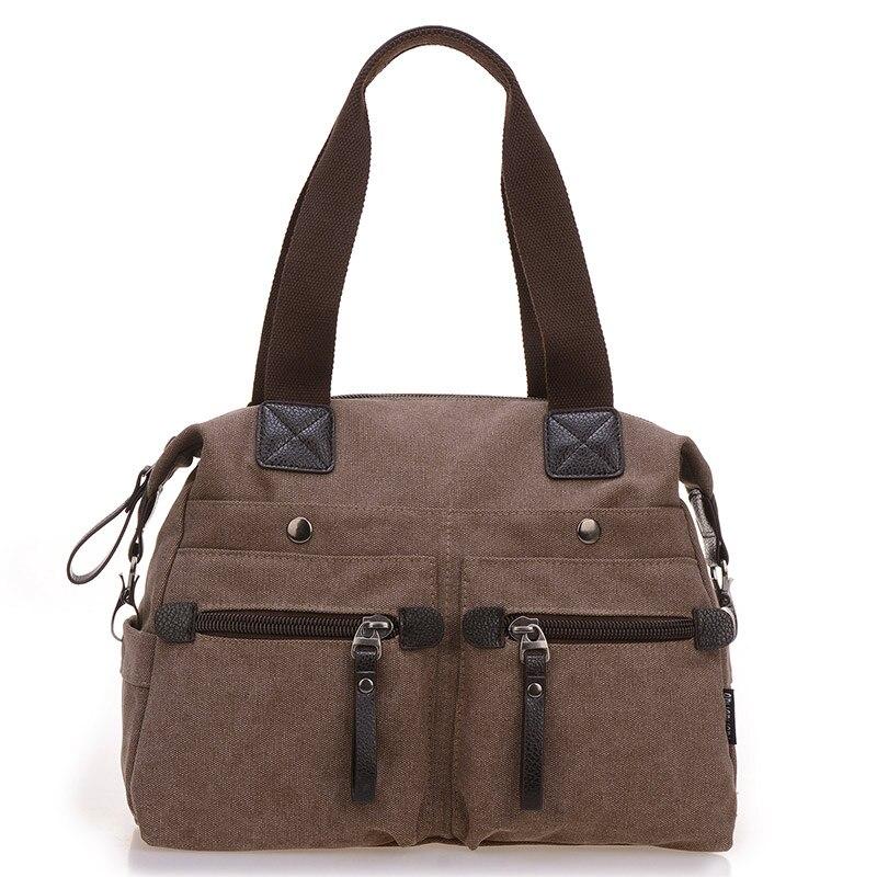 a9381a32f Moda lienzo bolso de Crossbody para las mujeres bolso hombro Messenger  bolsas Casual Bolsa Feminina alta calidad gran capacidad