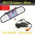 Auto estacionamento Monitor de invertendo câmera CCD retrovisor do carro com câmera espelho retrovisor do carro para OPEL Vectra Astra Zafira Insignia