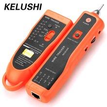 KELUSHI אבחן בודק XQ 350 לutp STP Cat5 Cat6 RJ45 LAN כבל רשת Finder Rj11 טלפון חוט קו Tracker/Tracer