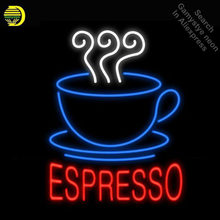Neon Signs for Espresso Coffee Iconic Sign Neon Light Sign arcade Beer Bar Pub Neon Bulb Decorate Business Board Room dropship(China)