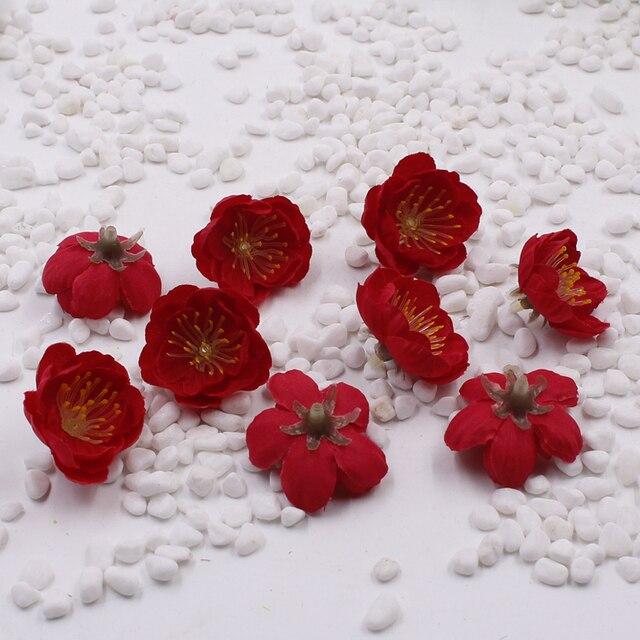 Aliexpress buy simulation peachcherry blossomplum silk simulation peachcherry blossomplum silk flowers dried flowers wedding decoration craft materials mightylinksfo