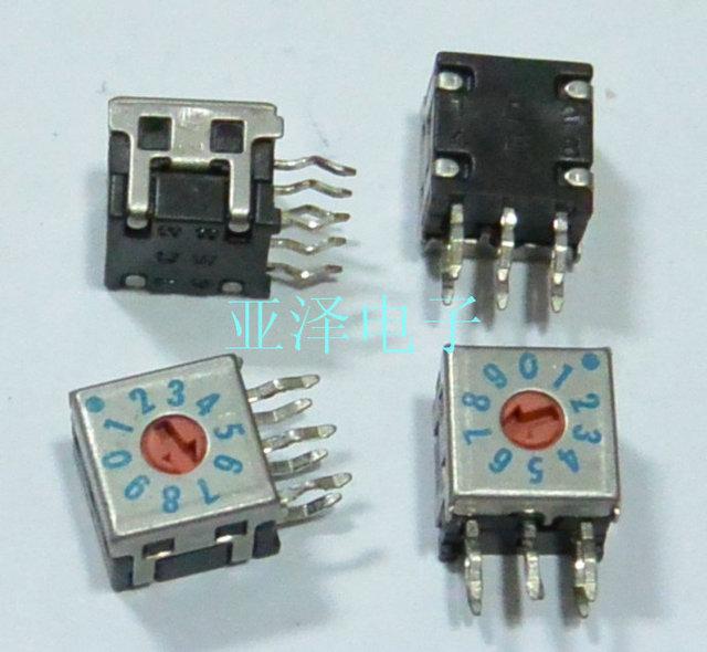 1pcs FUJISOKU, Fuji, 0 9/10 bit, DRR7110C rotary dial switch, 8421C  encoding switch-in Switches from Lights & Lighting on Aliexpress com |  Alibaba