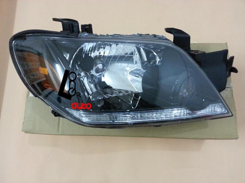 Xenon Headlights car styling for MITSUBISHI Outlander 2003-2005 Front  Head lamp