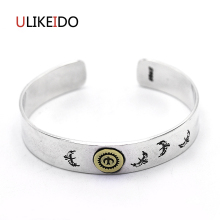 Pure 925 Sterling Silver Bangle Eagle Fashion Vintage Hand Chain For Men And Women Opening Jewelry Thai Silver Charm 481