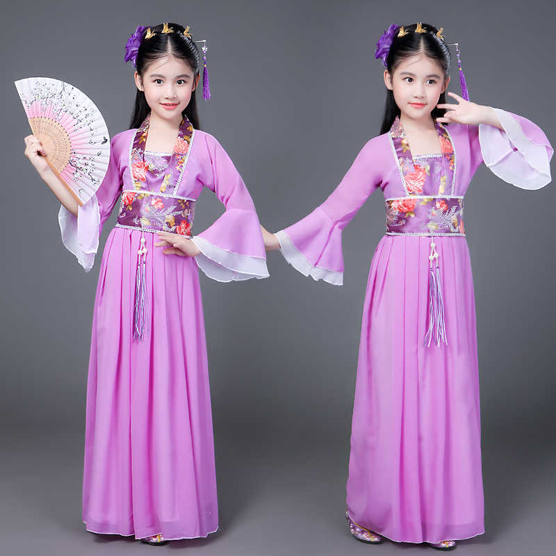 5c1606d7a New Arrivals Kids Designers Clothes Chinese Vintage Style Tulle Dress Girls  Carnival Costume for Children Fancy