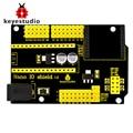 Бесплатная доставка! Новый Keyestudio Nano IO щит для Arduino Nano 328P XBEE с гнездом NRF24L01