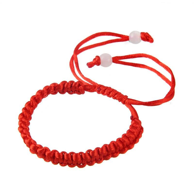 10pcs Ethnic Style Lucky String Rope Cord Braided Bracelet For Woman Girls Handmade Adjustable Bracelet Gift