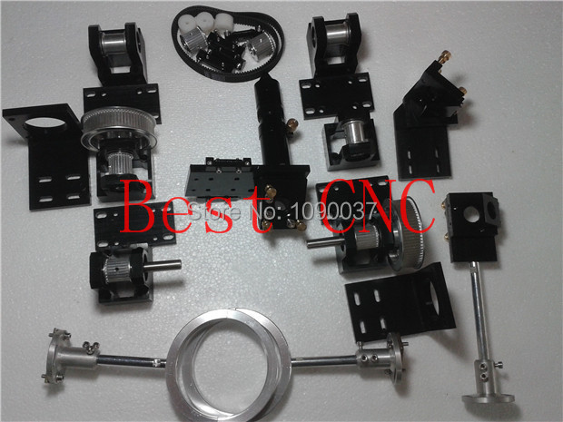 whole set mechanical components for installing a co2 laser cutting and engraving machine laser head