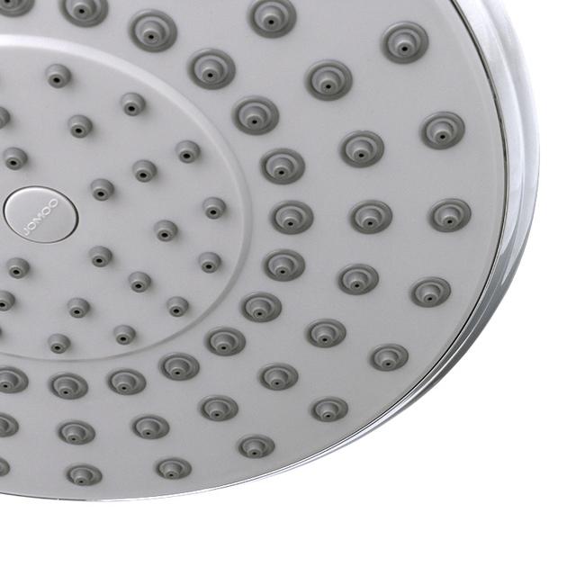 JOMOO Rain Shower Head 8 inch ABS plastic Rainfall Luxury Bathroom Bath Shower Top Over-head Shower Sprayer Single Head Chrome