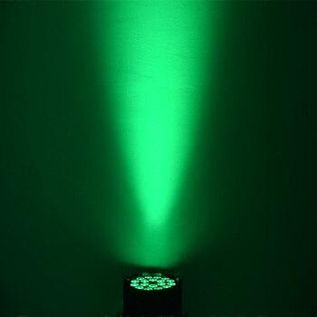 Led Par אורות 18X3 Dj Par לשטוף Rgbw 4in1 דיסקו אור DMX בקר למשפחה המפלגה חג המולד דיסקו Dj 10 יח'\חבילה