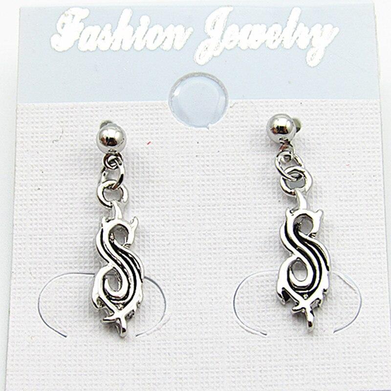Rock Band Earrings SlipKnot Earrings