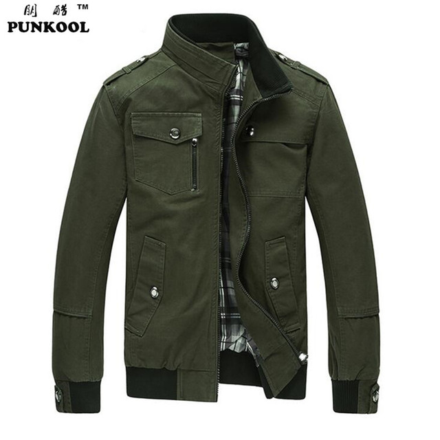 Aliexpress.com : Buy PUNKOOL Military Men Jacket Army Winter ...