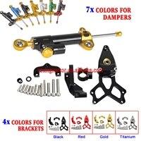 Steering Damper & Bracket Mounting Kit For Honda CBR1000RR ABS SP 2008 2009 2010 2011 2012 2014 2015 2016 CBR 1000RR CBR1000 RR