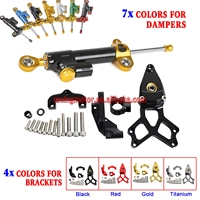 Steering Damper & Bracket Mounting Kit For Honda CBR1000RR ABS SP 2008 2009 2010 2011 2012 2014 2015 2016 CBR 1000RR CBR1000 RR